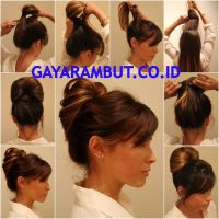 Cara Membuat Rambut Bergelombang - Menyanggul