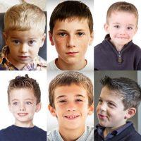 Model Rambut Anak Laki-laki - Caesar haircut