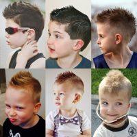 model rambut anak laki-laki - mohawk