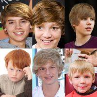model rambut anak laki-laki - mop top