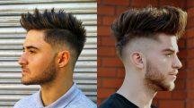 model rambut mohawk - Semi Mohawk