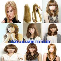 model rambut jepang Shaggy Panjang
