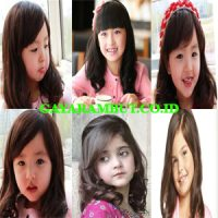 model rambut anak perempuan Medium Length with Soft Layer