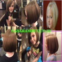 model rambut anak perempuan Stunning Chic Bob
