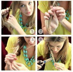 Cara Memotong Rambut Sendiri Model Layer - Layer Panjang