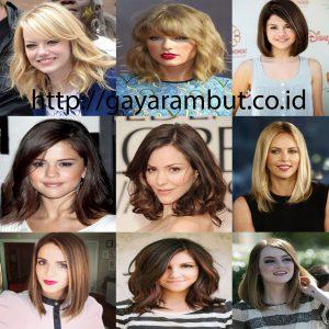 Model Gaya Rambut Wanita Sebahu - Hollywood