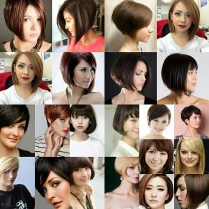 Model Rambut Bob Layer - Bob Layer Campuran