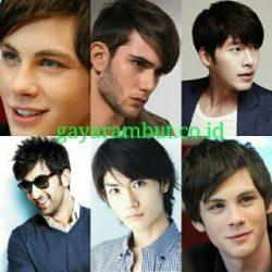 30 Model Rambut Pria Berponi Lurus dan Samping