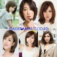 Model Rambut Wanita Korea - wavybob
