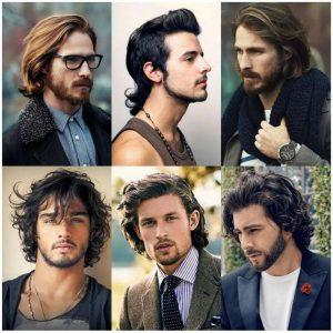 Model Rambut Pria Sesuai Bentuk Wajah hati