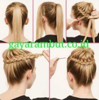 Cara Menata Rambut Panjang - Membuat Cepol Balerina