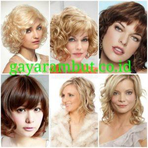60 Model Rambut Pesta Malam Untuk Wanita Wajah Bulat Yang Simple Dan Elegan Gayarambut Co Id