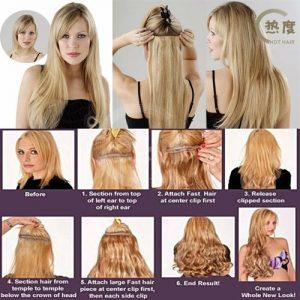 Cara Memasang Rambut Sambung