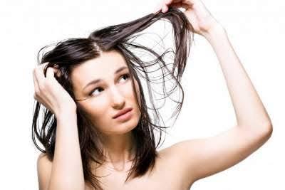 Ciri-ciri rambut lepek