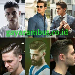 Cara Menata Rambut Undercut - classic undercut