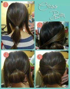 42 Cara Mengikat Rambut Panjang Yang Simple dan Sederhana ... c27c50b625