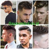 Gaya Rambut Pria Kurus - model rambut undercut