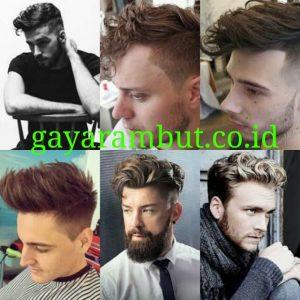 Cara Menata Rambut Undercut - wavy top
