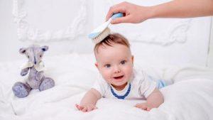 Rambut Bayi Rontok Bagian Depan