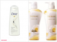 Dove Dandruff Care Shampo & Sheisedo Tsubaki Damage Care Shampo