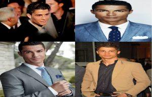 Model rambut Cristiano Ronaldo classic retro