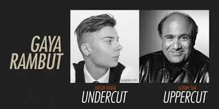 Perbedaan Rambut Undercut dan Uppercut yang Belum Banyak Diketahui