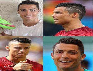 Model rambut Cristiano Ronaldo undercut