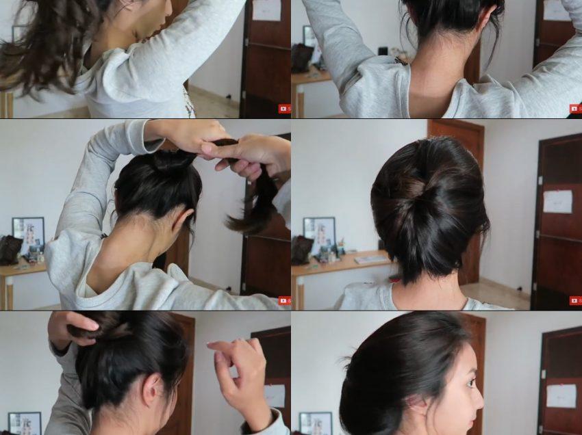 12 Cara Mengikat Rambut Tanpa Ikat Rambut dengan Mudah