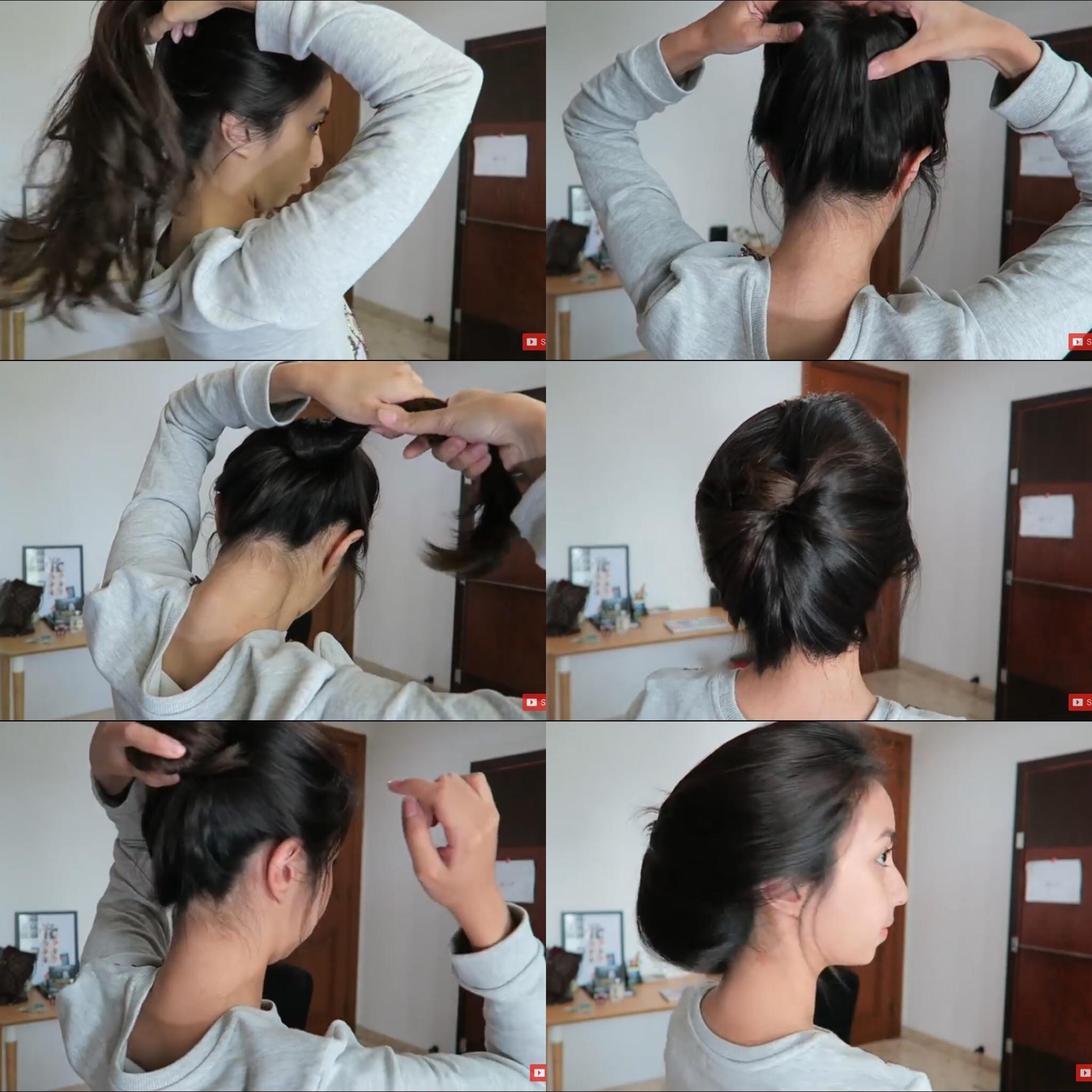 Cara Mengikat Rambut Panjang Tanpa Ikat Rambut