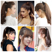 Model rambut ponytail
