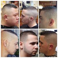 Jenis rambut fade selanjutnya yang juga dapat menjadi inspirasi tatanan  rambut pada pria kekinian adalah model rambut high and tight fade. 2458500160