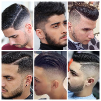 Jenis model rambut dengan kesan fade lainnya adalah model rambut side part. Model  rambut ini tidak berbeda jauh dengan bentuk atau gaya tatanan rambut ... ebf873238e
