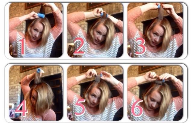 Cara Melengkungkan Rambut Ke Dalam