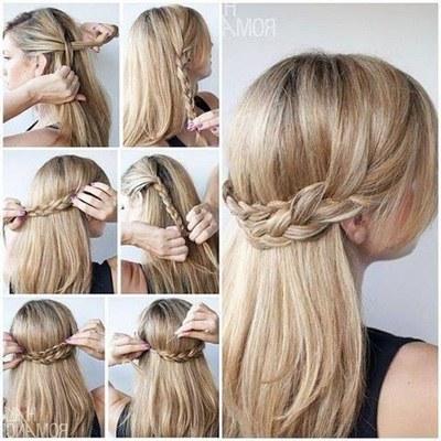 Cara Membuat Kepang Rambut Panjang