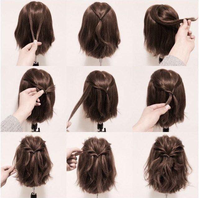 39 Cara Mengikat Rambut Bob Pendek Yang Simple dan Mudah