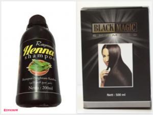 Raymma Henna Shampoo &Black Magic Shampoo