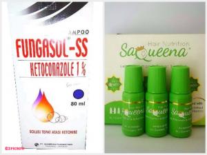 Fungasol SS &Saqueena Hair Nutrition
