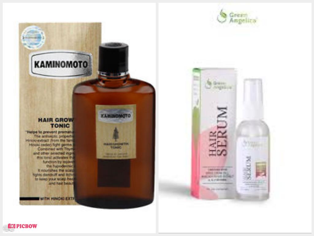 Kaminomoto Hair Growth Tonic &Green Angelica Hair Serum