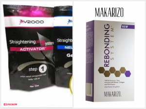 Prime Y2000 Hair Straightening Gel Smoothing & Makarizo Rebonding System for Dry/Damaged Hair