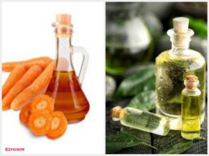 Minyak Ekstrak Wortel &Minyak Rambut dari Tea Tree