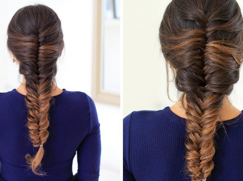 4 Cara Kepang Rambut Fishtail yang Cantik dan Mudah Dibuat