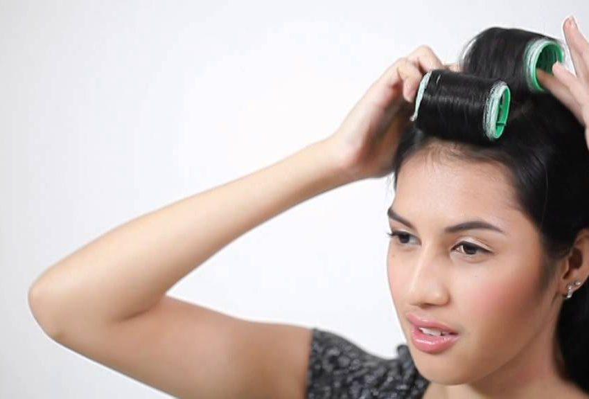 8 Cara Memakai Roll Rambut Untuk Poni Panjang dan Pendek yang Bisa Anda Coba