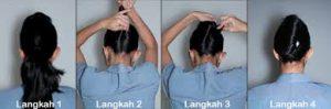 Cara Menata Rambut Seperti Pramugari