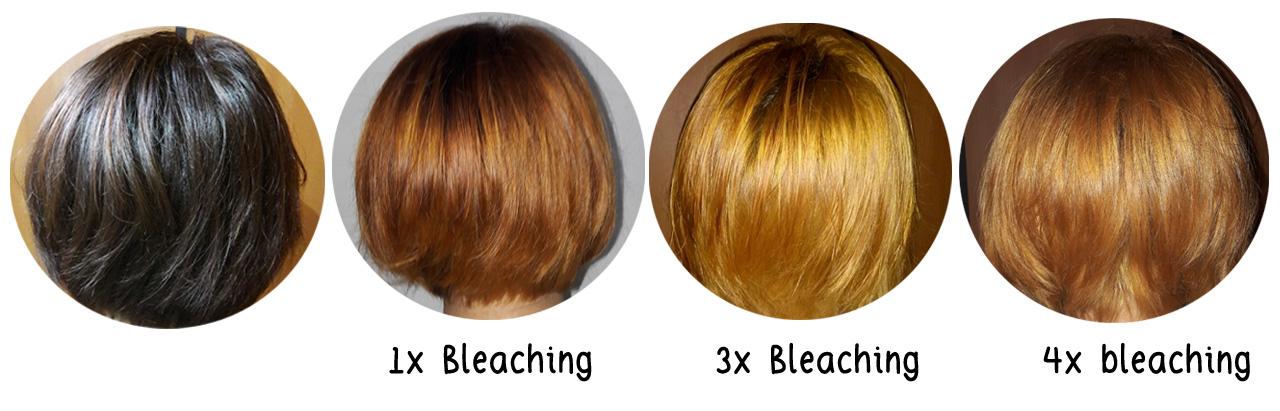 Cara Mewarnai Rambut Setelah Bleaching
