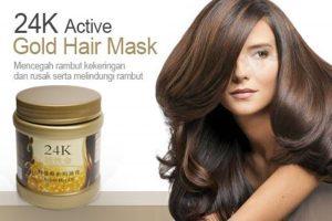 masker rambut 24k
