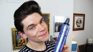 Hair Mousse untuk pria