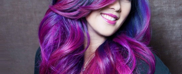 20 Cara Mewarnai Rambut Warna Ungu yang Wajib Untuk Anda Coba