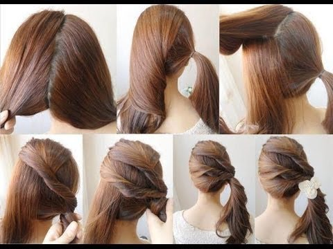 14 Cara Mengikat Rambut Anak Perempuan Yang Menarik Untuk Dicoba