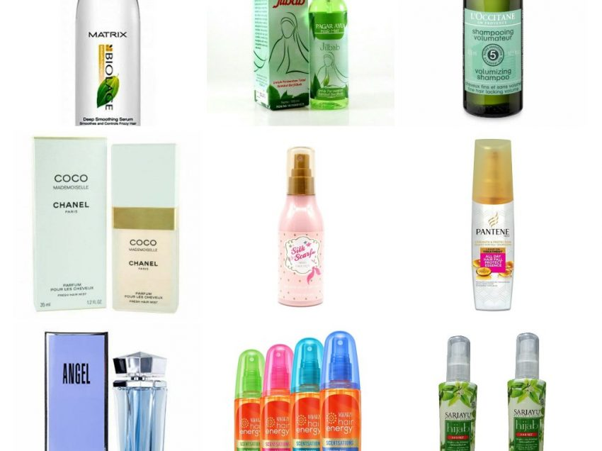 Inilah 17 Merk Parfum Rambut Untuk Pria Dan Wanita Berhijab Saat Berpergian