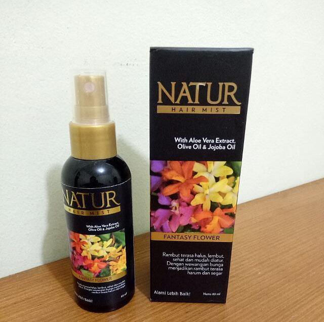 Natur Hair Mist Fantasy Flower: Manfaat, Cara Penggunaan dan Harga
